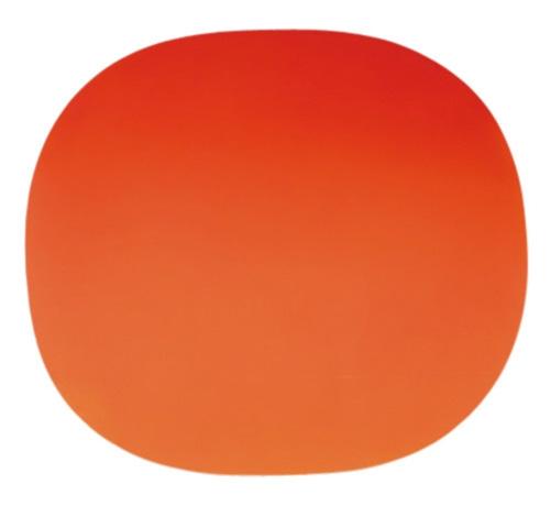 586/69 (Gerundetes Rot), 1969 - Rupprecht Geiger