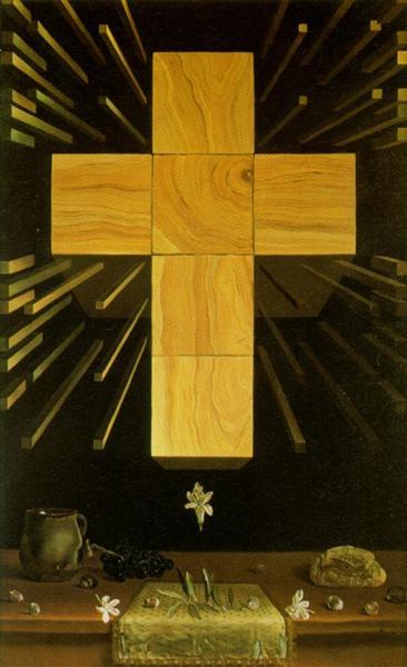 Arithmosophic Cross, 1952 - Salvador Dalí