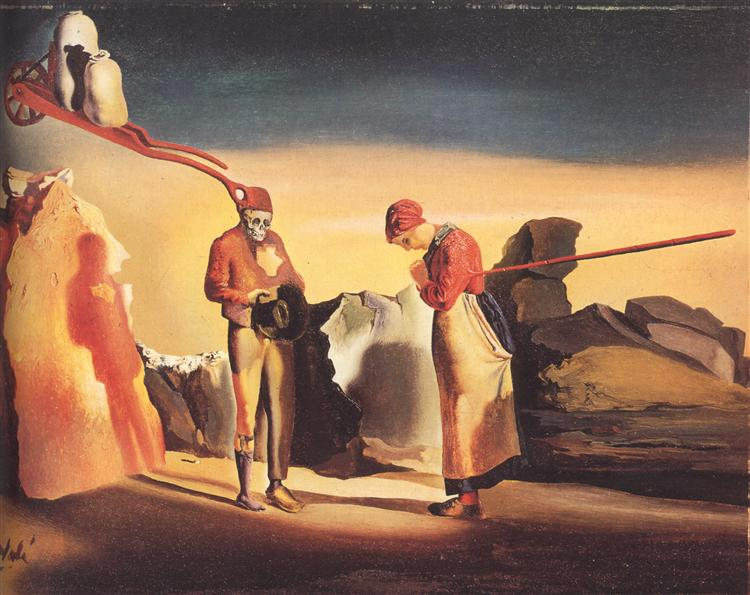 Atavism at Twilight, 1934 - Salvador Dali