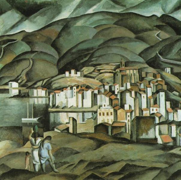 Cadaques, 1923 - Salvador Dali