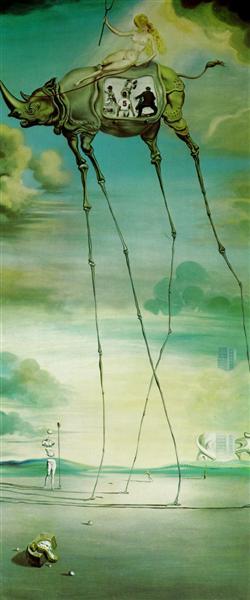 Celestial Ride, 1957 - Salvador Dali