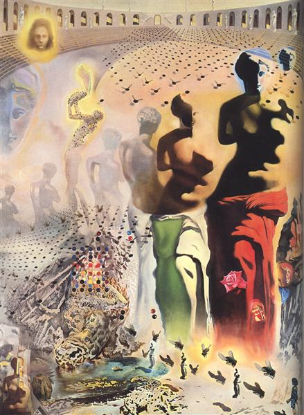 The Hallucinogenic Toreador, 1968 - 1970 - Salvador Dali