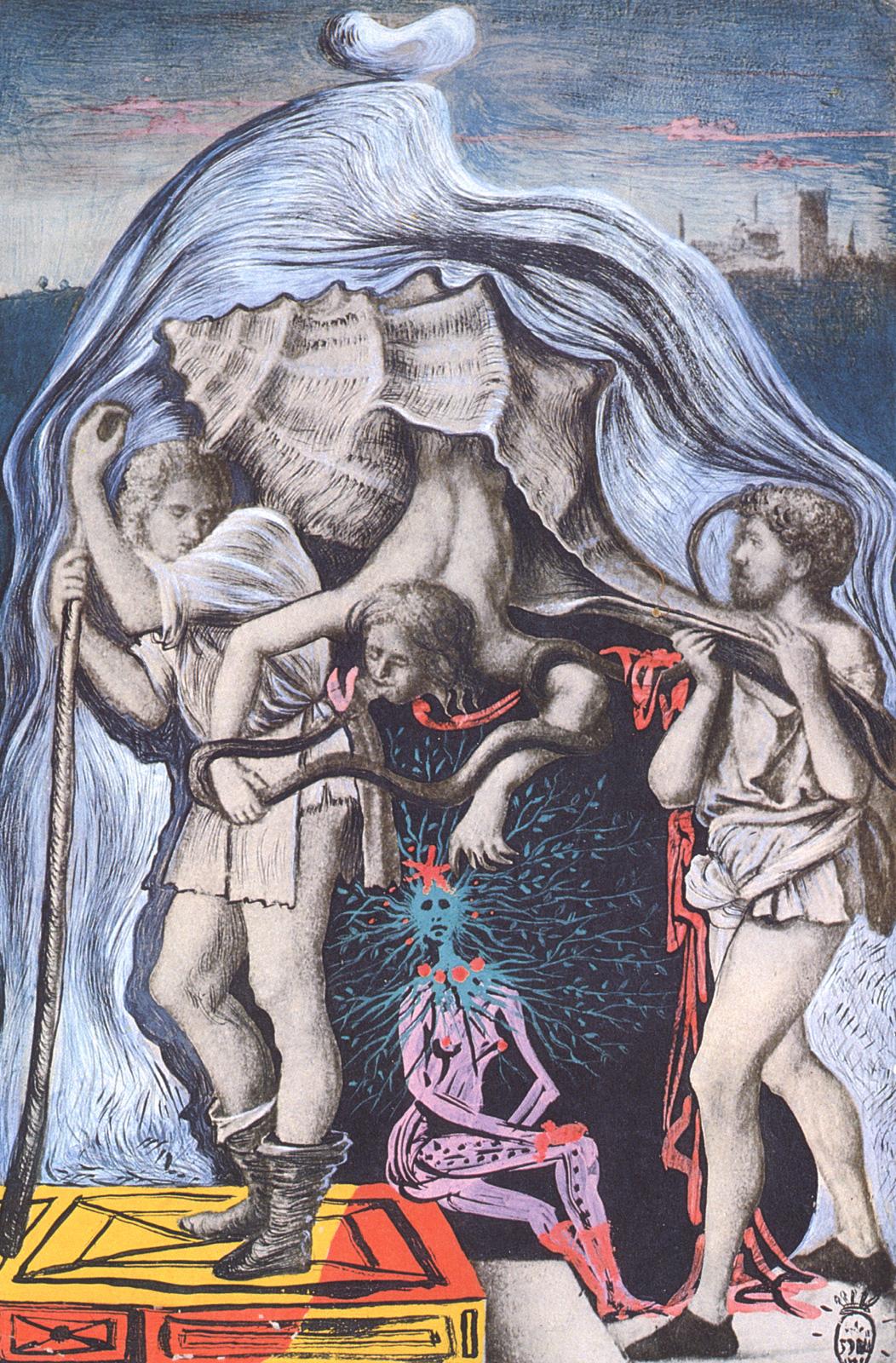 Metamorphosis of the Five Allegories of Giovanni Bellini, 1939