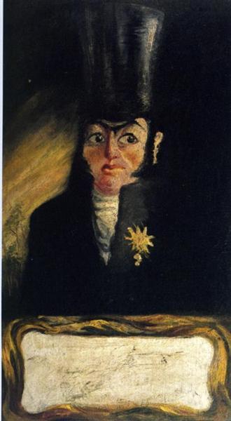 Portrait of El Sany Pancraci, c.1919 - Salvador Dali