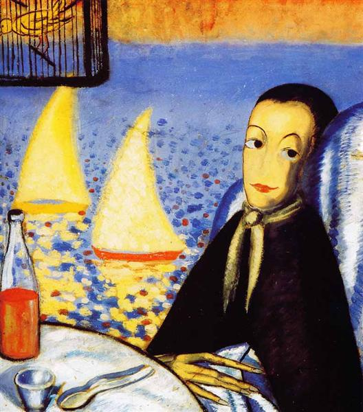Sick Boy (Self-portrait in Cadaqués), c.1923 - Сальвадор Далі
