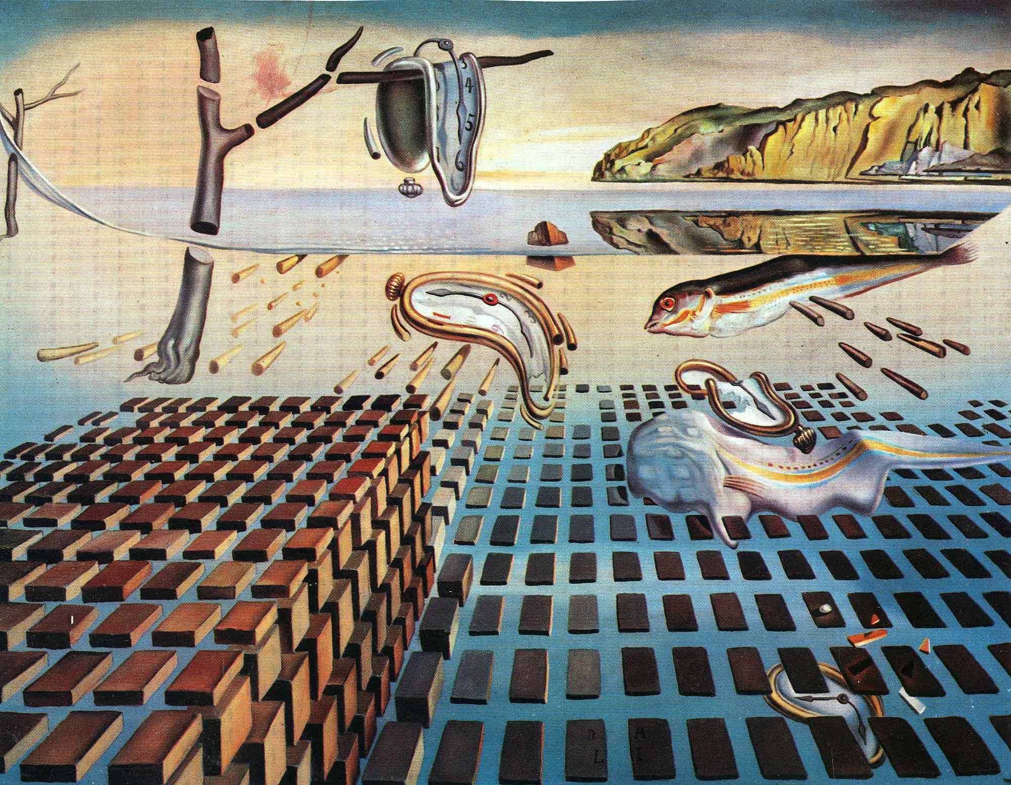 The Disintegration of the Persistence of Memory - Salvador Dali ...