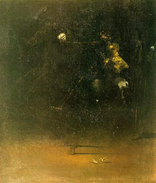 The Knight of Death, 1934 - Salvador Dali