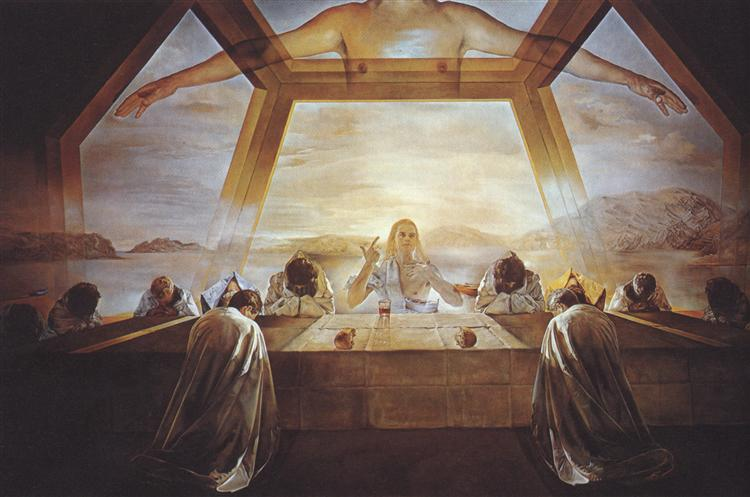 The Sacrament of the Last Supper, 1955 - Salvador Dalí