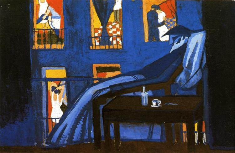The Voyeur, c.1921 - Salvador Dali