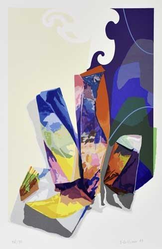 Untitled, 2003 - Sam Gilliam