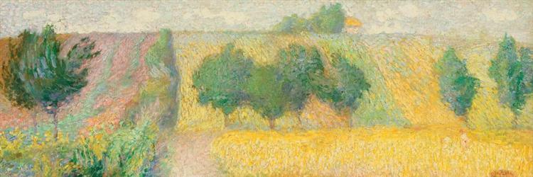 Landscape in Giverny - Samuel Mutzner