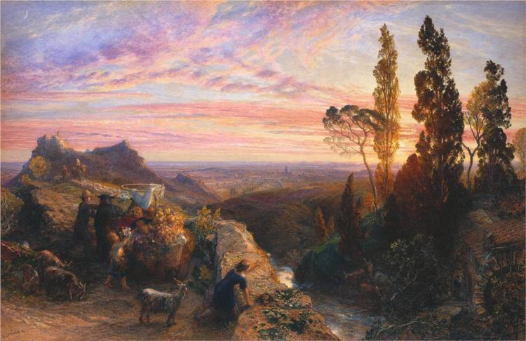 A Dream in the Apennine, 1864 - Samuel Palmer