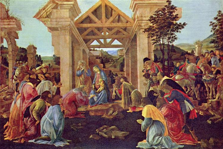 Adoration of the Magi, 1482 - Sandro Botticelli