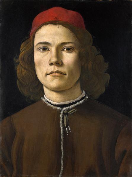 Portraitof a YoungMan, 1483 - Sandro Botticelli