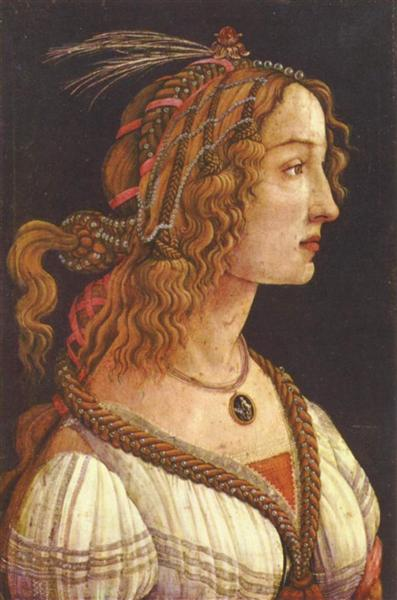 Portrait of a young woman, 1485 - Sandro Botticelli