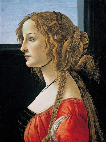 PortraitofSimonettaVespucci, c.1476 - Sandro Botticelli