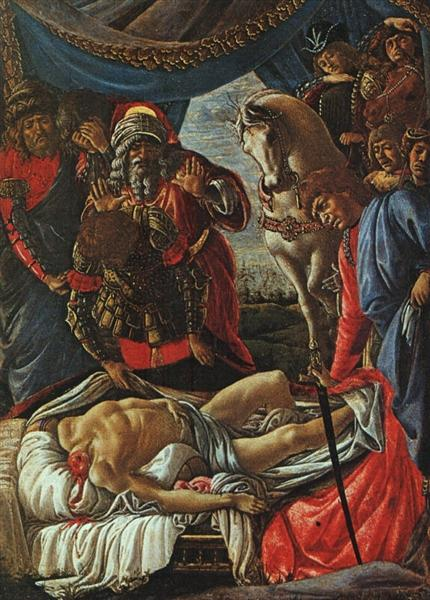 The Discovery of the Body of Holofernes, 1470 - Sandro Botticelli