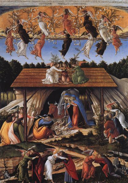 The Mystical Nativity - Sandro Botticelli