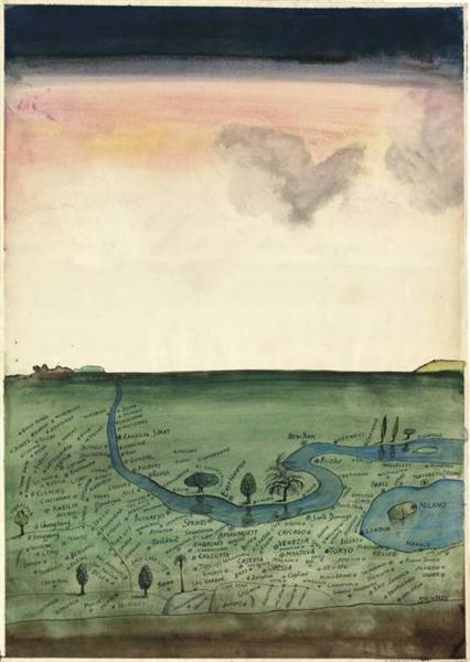 Autogeography - Saul Steinberg