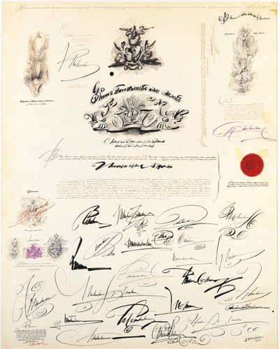 Large Document - Saul Steinberg