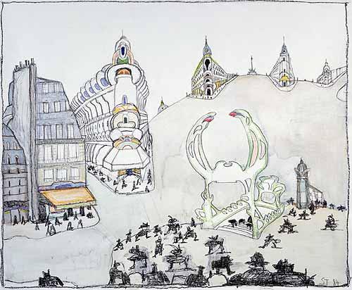 Paris, 1984 - Saul Steinberg