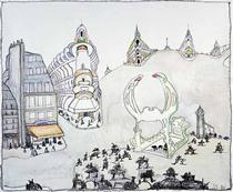 Paris - Saul Steinberg