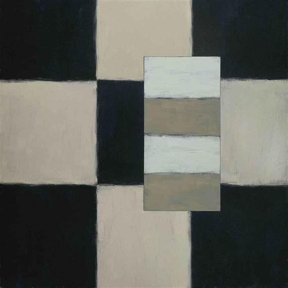 Black White White, 1996 - Sean Scully