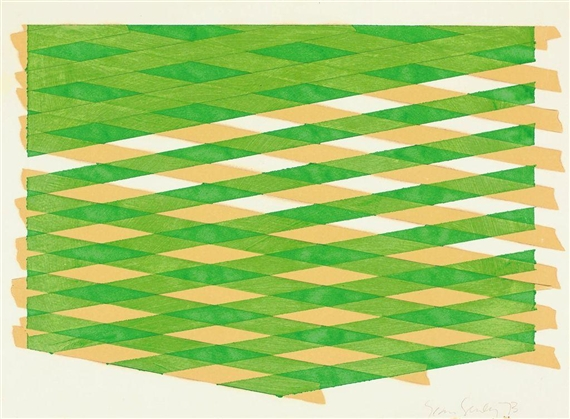Untitled, 1973 - Sean Scully