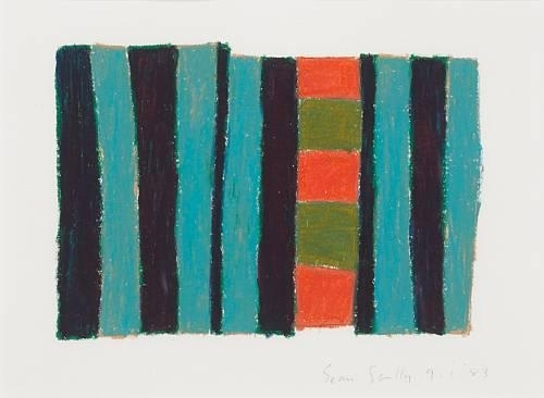Untitled, 1983 - Sean Scully