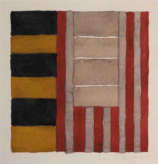 Untitled, 1993 - Sean Scully