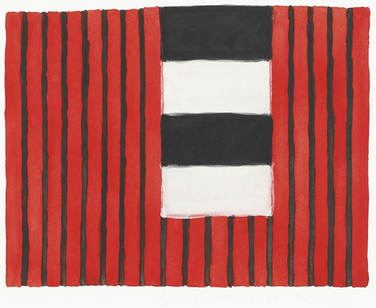 Untitled, 1996 - Sean Scully