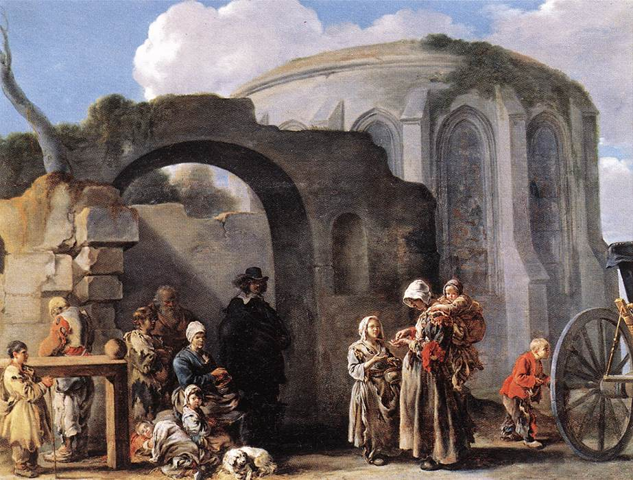 The Beggars, 1640