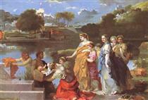 The Finding of Moses - Sébastien Bourdon