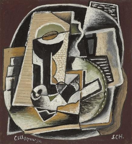 Composition, cubisme ornemental, 1922 - Сергей Шаршун