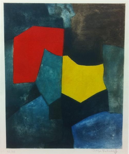 XVI, 1964 - Serge Poliakoff