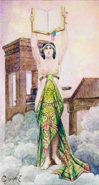 Priestess, c.1915 - Sergey Solomko