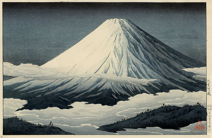 Nearby Omuro, 1929 - Shotei Takahashi