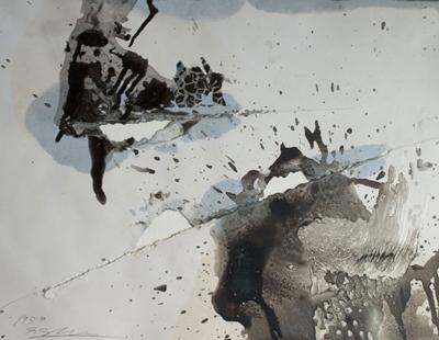 Hole Esquisse, 1958 - Shozo Shimamoto