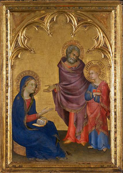 Christ Discovered in the Temple, 1342 - Simone Martini