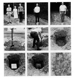 Buried Cube Containing an Object of Importance but Little Value, 1968 - Сол Ле Вітт