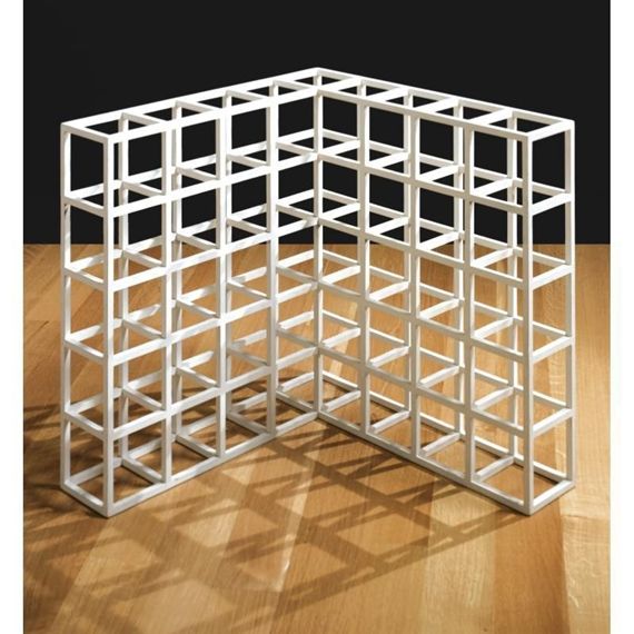 Cube Structure Based on Five Modules, 1972 - Sol LeWitt