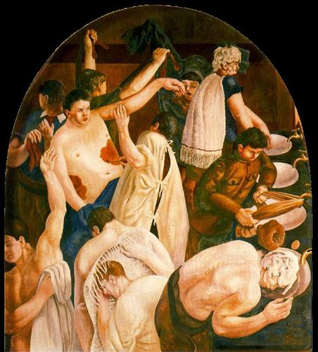Ablutions - Stanley Spencer