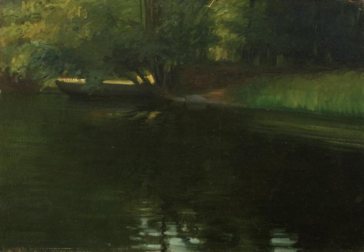 On the River Shore - Stefan Popescu