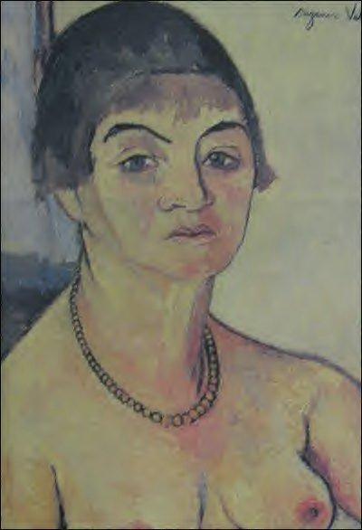 Self-Portrait, 1938 - Suzanne Valadon