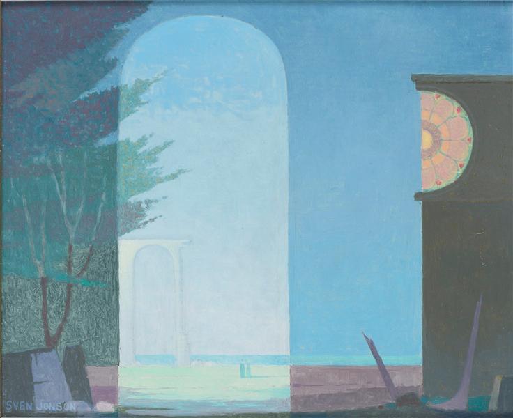 The blue hat - Sven Jonson