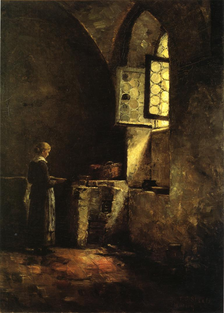 Old Kitchen A Corner In The Old Kitchen Of The Mittenheim Cloister 1883