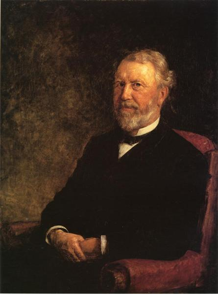 Albert G Porter Governor Of Indiana 1885 T C Steele