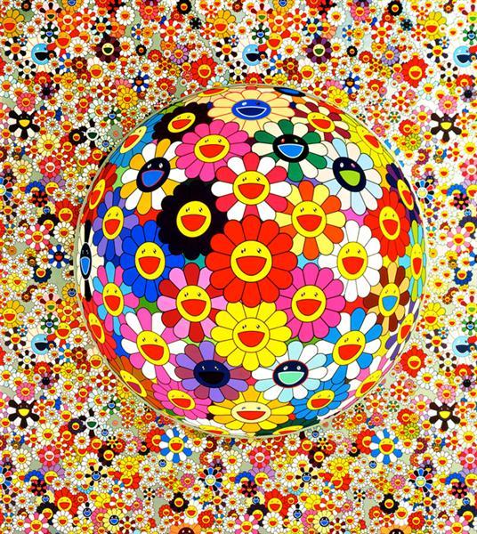 Flower Ball, 2002 - Takashi Murakami