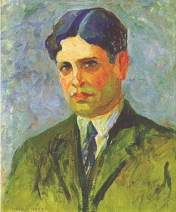 Portrait of Oswald de Andrade, 1922 - Тарсіла ду Амарал