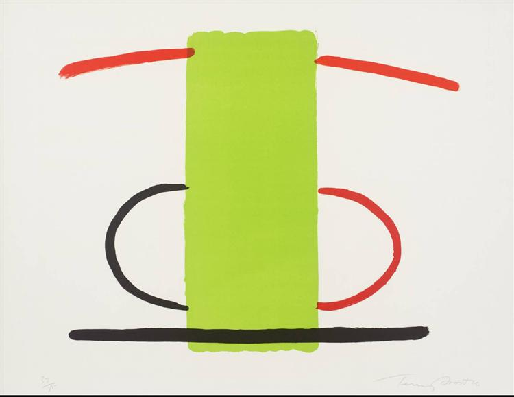 Green and Orange, 1970 - Terry Frost